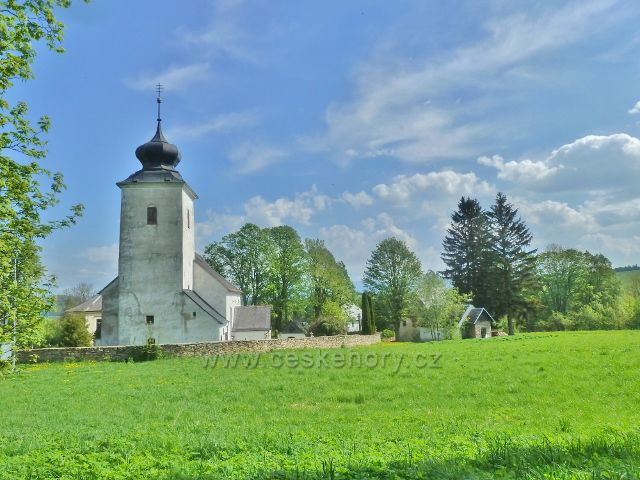 Podlesí - kostel sv.Máří Magdalény