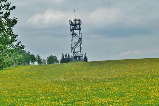 Horní Orlice - rozhledna na vrchu Val