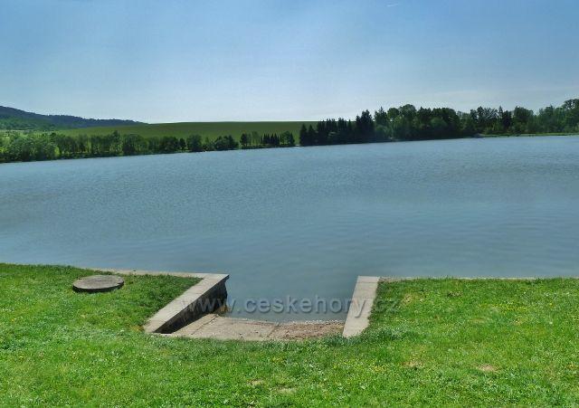 Nový Malín - vodní nádrž Krásné