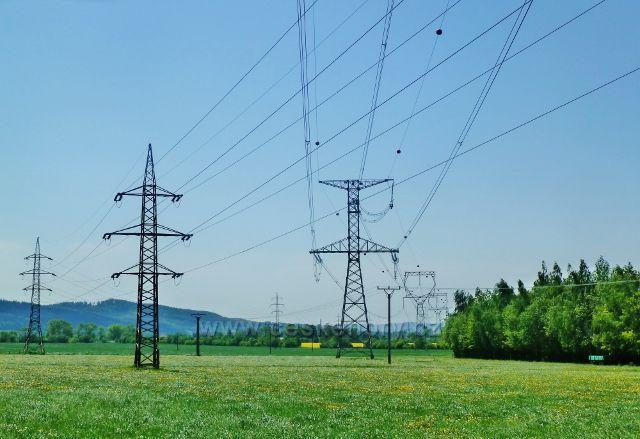 Vikýřovice - rozvodová síť VN z elektrárny Dlouhé Stráně