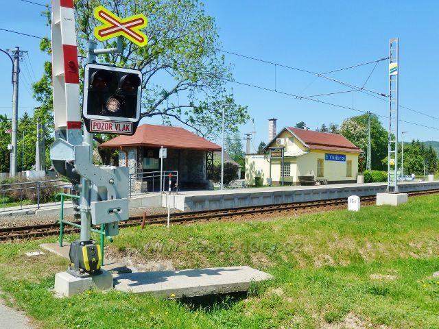 Vikýřovice - železniční stanice
