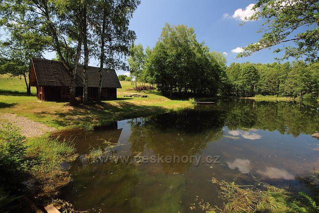 Rybníček u Petrovic
