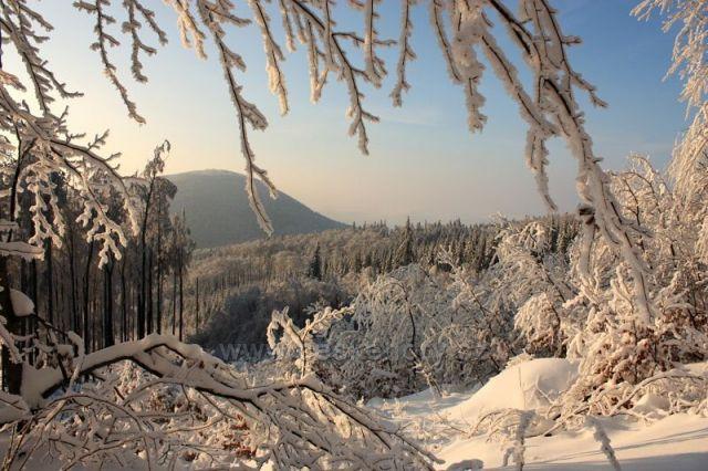Výhled z Velkého Javorníka