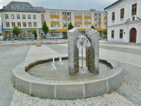 Jeseník - fontána na Masarykovo náměstí
