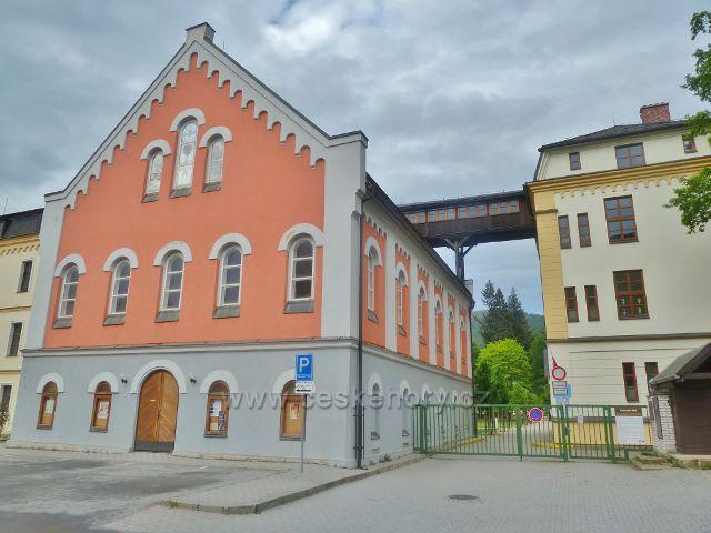 Jeseník - klášterní kaple Panny Marie u bývalého kláštera Voršilek
