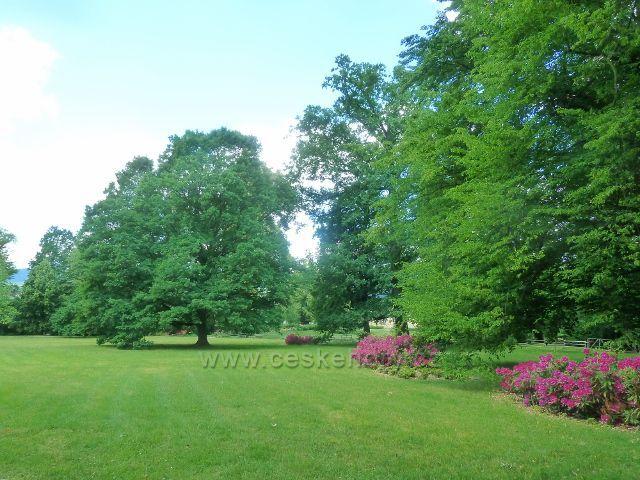 Bludov - zámecký park