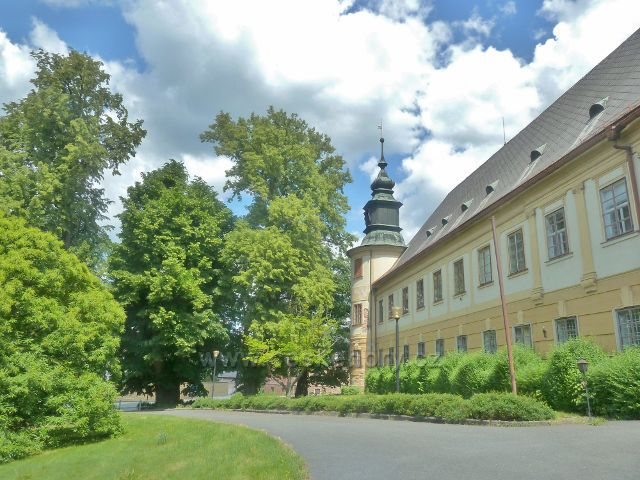 Bludov - zámek
