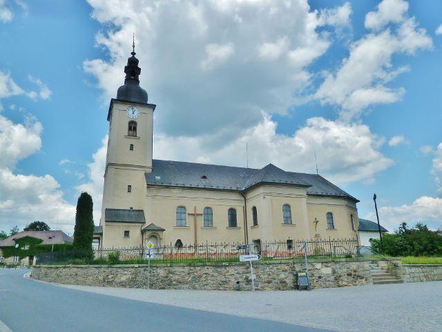 Bludov - kostel svatého Jiří