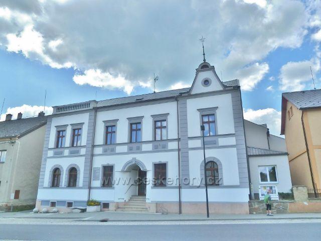Bludov - kulturní dům a sídlo informačního centra