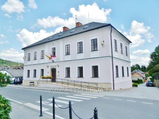 Bludov - budova radnice
