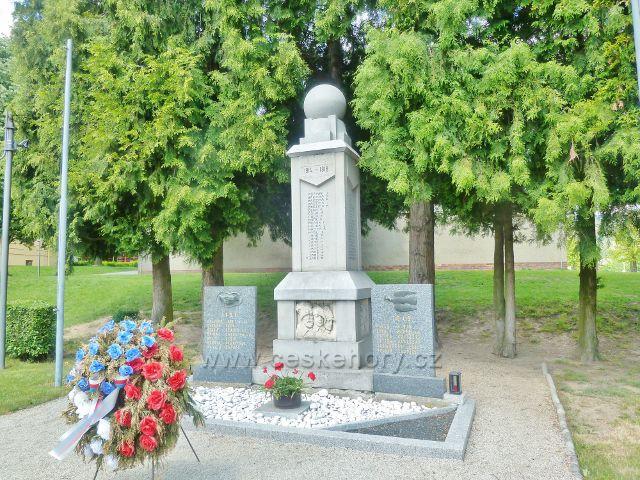 Bludov - památník obětem válek