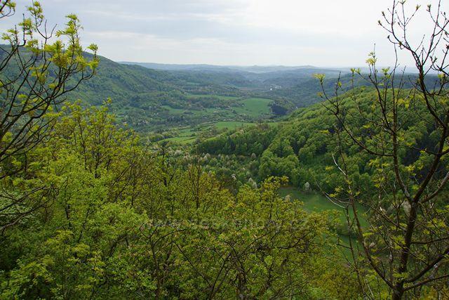 pohled na údolí Ohře