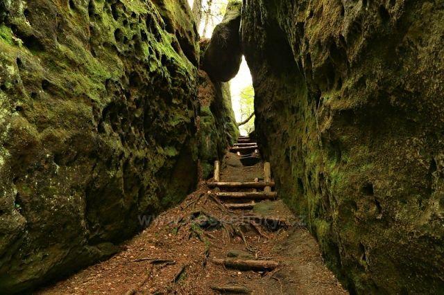 Soutěska Úzké schody