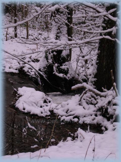 první sníh - Valské údolí