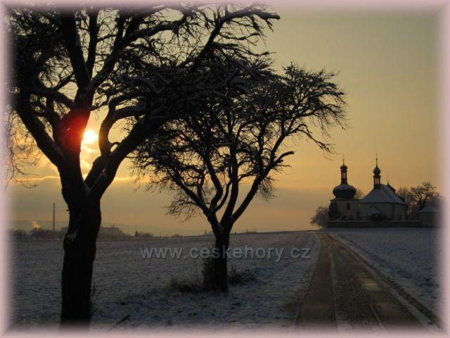 první sníh - Dobruška