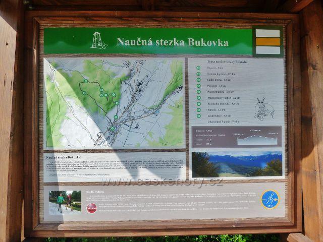 Rapotín - panel NS Bukovka před Informačním centrem