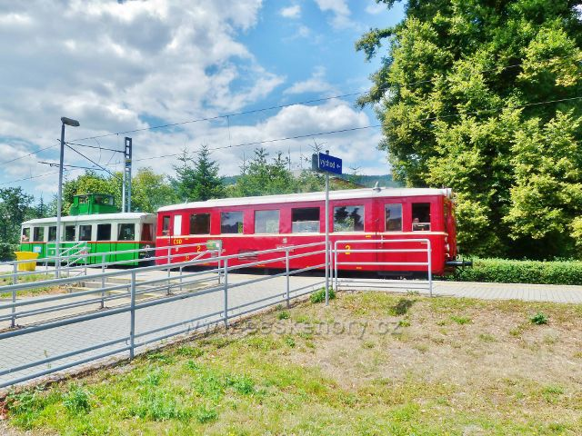 Rapotín - železniční stanice Rapotín