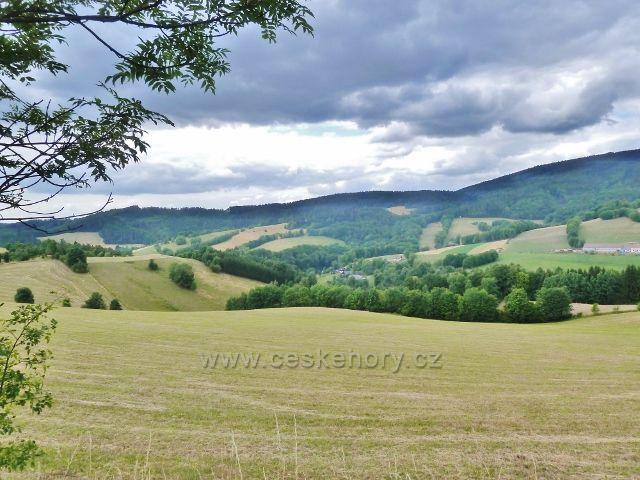 Bohdíkov - pastviny nad Štědrákovo Lhotou