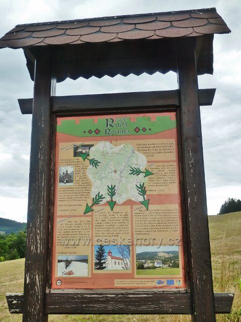 Bohdíkov - panel regionu Ruda, Rovinka