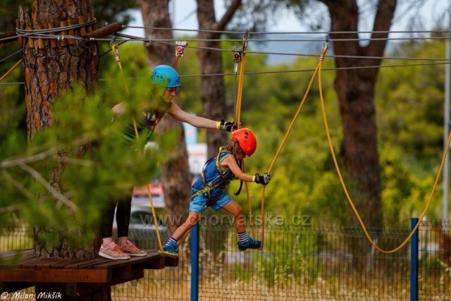 Park adventure v Biogradu