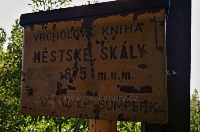 Městské skály u Šumperka