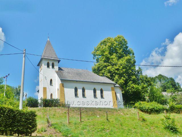 Štědrákova Lhota - kaple sv.Fabiána a Šebestiána u hřbitova
