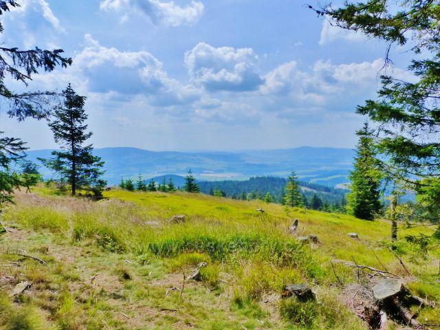 Dolní Morava - pohled z úbočí Klepého pod Suchý vrch