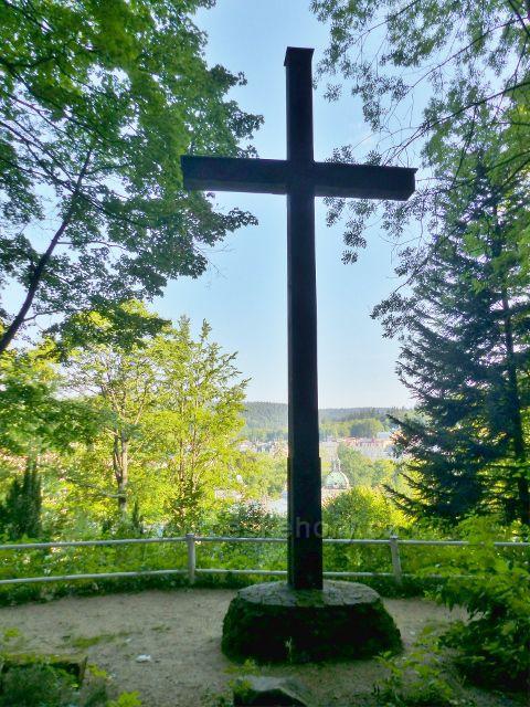 Mariánské Lázně - Karlův kříž na trase Edwardovy cesty