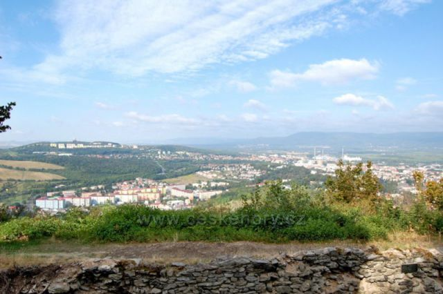 Hrad Doubravka-pohled na Teplice