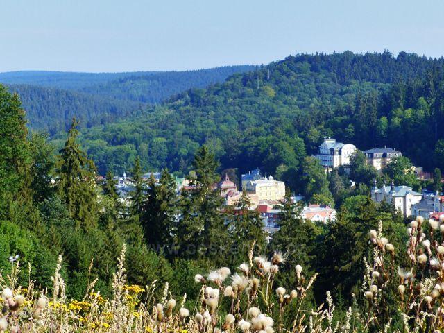 Mariánské Lázně - lázeňské hotely uprostřed Slavkovského lesa
