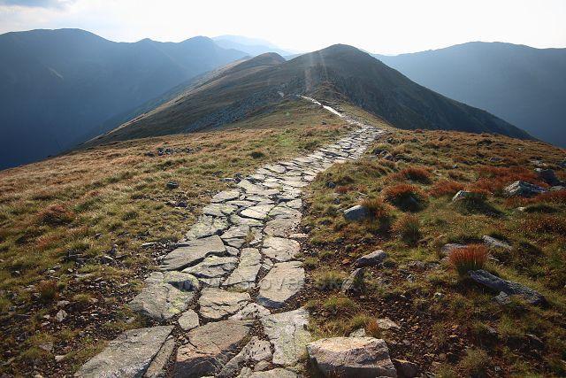 Cesta po hřebenu