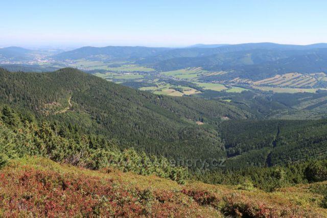 Pohled z Červené hory