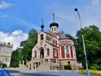 Mariánské Lázně - pravoslavný kostel svatého Vladimíra