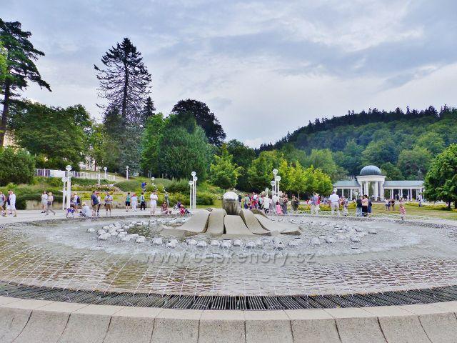Mariánské Lázně - Zpívající fontána