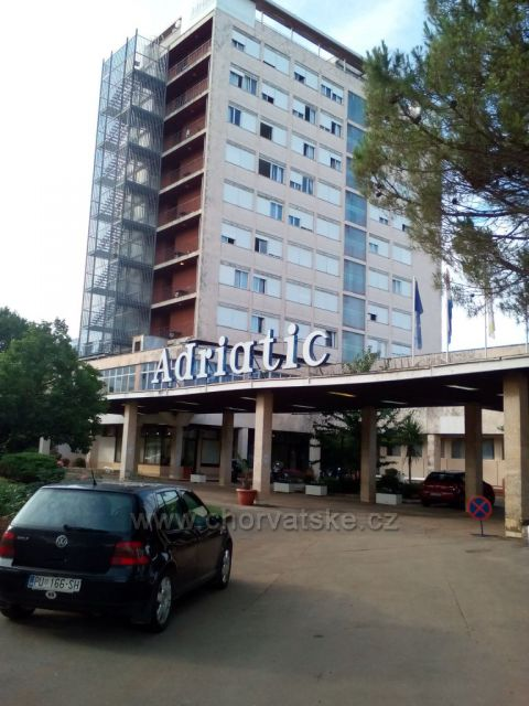 hotel Adriatic v Umagu