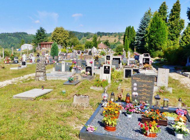 Bečov nad Teplou - české část hřbitova