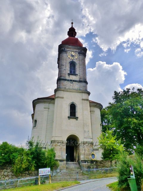 Bečov nad Teplou - římskokatolický  kostel sv. Jiří