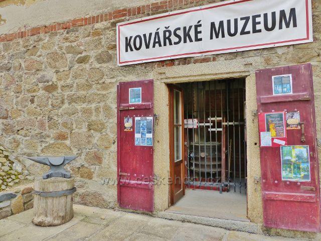 Bečov nad Teplou - Kovářské muzeum u Bečovských schodů