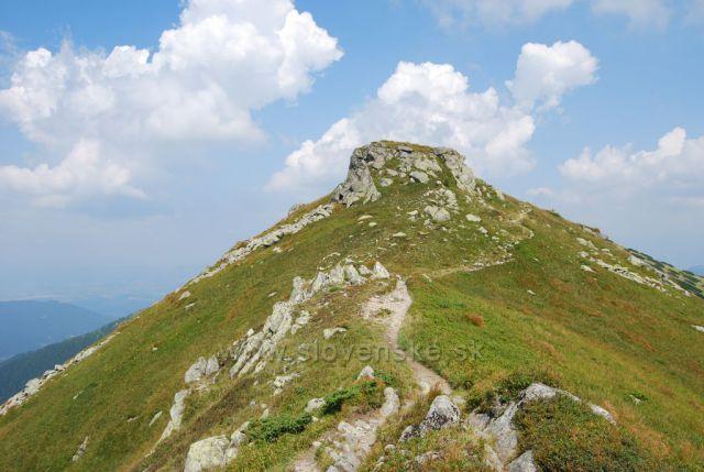 hřebenovka  sedlo Poľany Demänovská Dolina