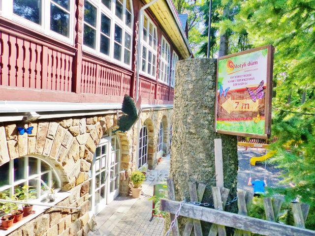 Karlovy Vary - Motýlí dům v areálu restaurace Diana na Výšině Přátelství