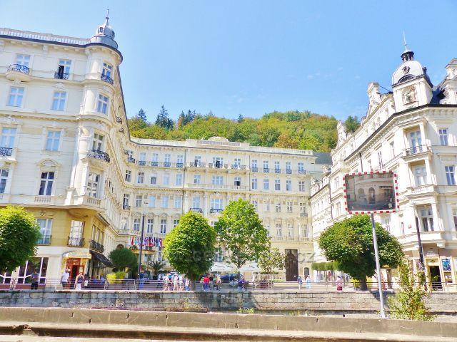 Karlovy Vary - hotel Pupp