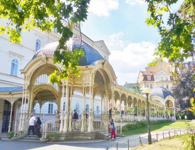 Karlovy Vary - Sadová kolonáda