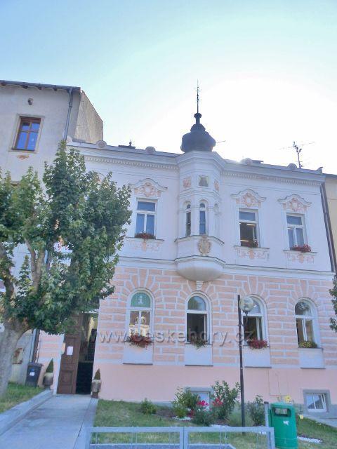 Tachov - budova Městské galerie je současně sídlem Regionálního TIC