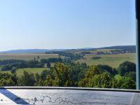 Tachov - pohled z rozhledny Vysoká směrem na Milíře