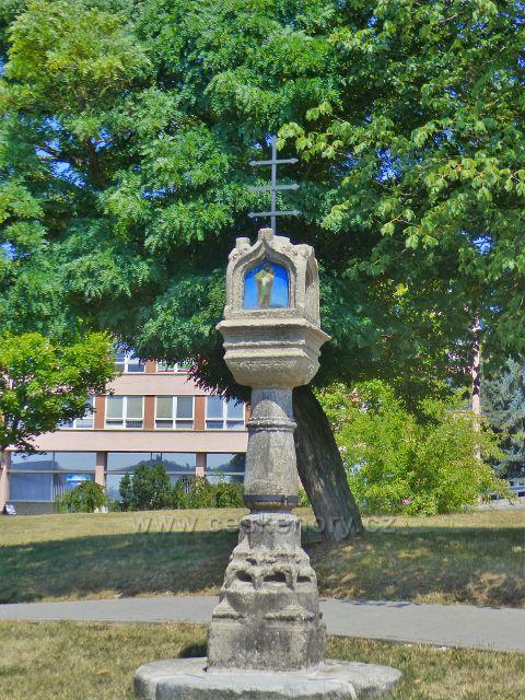 Tachov - Boží muka z roku 1522 jsou gotickou památkou a najdeme je na t.zv. Horním náměstí