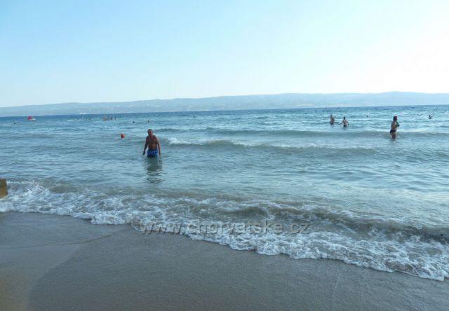 Omiš - Duče, pláž