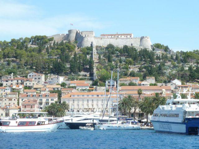 Hvar a pevnost Tvrdava Fortica
