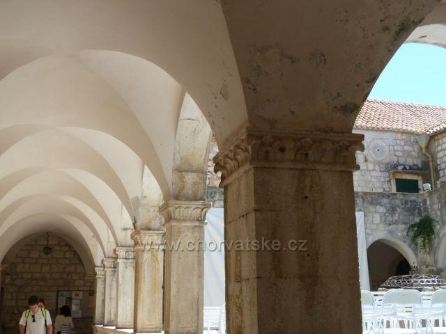 Hvar,františkánský klášter Gospa od Milosti z 15.století