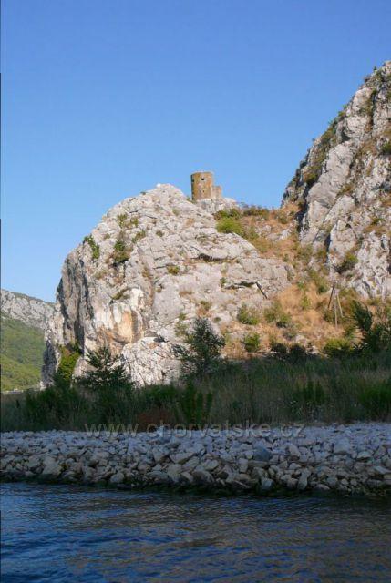 Omiš - kaňon řeky Cetiny