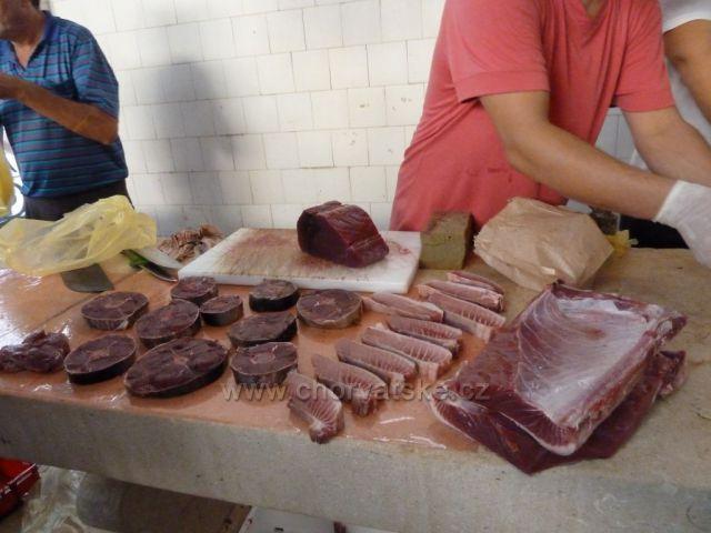 Split - rybí trh